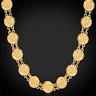 halpa -Naisten Muoto Muoti Choker-kaulakorut Kaulaketjut Vintage kaulakoru Platinum Plated Gold Plated Choker-kaulakorut Kaulaketjut Vintage