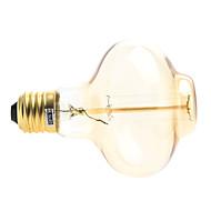 お買い得  LED ボール型電球-200-260 lm E26/E27 フィラメントタイプLED電球 1 LEDの 温白色 AC 220-240V
