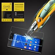 HD رقيقة جدا واضح واقية من الانفجار خفف من الزجاج غطاء حامي الشاشة لسوني اريكسون Z3