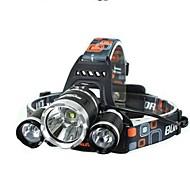 Luci bici LED 4.0 Modo 5000 Lumens Impermeabili / Ricaricabile / Resistente agli urti Cree XM-L T6 18650