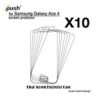 Недорогие Чехлы и кейсы для Galaxy A-высокая прозрачность HD ЖК-экран протектор для Samsung Galaxy Ace 4 g313h (10 штук)