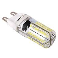 お買い得  LED コーン型電球-1個 9 W 400 lm G9 LEDコーン型電球 T 80 LEDビーズ SMD 3014 調光可能 温白色 / クールホワイト 110-130 V