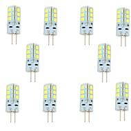 2.5W G4 Luci LED Bi-pin 24 leds SMD 2835 Bianco caldo Luce fredda 200-250lm 6000-6500K DC 12V