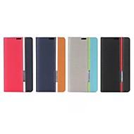 お買い得  携帯電話ケース-ケース 用途 Nokia Lumia 1020 Nokia Lumia 520 Nokia Lumia 630 Nokia ノキアLumia 530 ノキアLumia 930 Nokiakケース カードホルダー スタンド付き フリップ フルボディーケース 純色 ハード