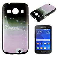 For Samsung Galaxy Case Pattern Case Back Cover Case Dandelion PC Samsung Ace Style LTE