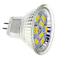 お買い得  LED スポットライト-GU4(MR11) LEDスポットライト 9 SMD 5730 430 lm 温白色 クールホワイト DC 12 V