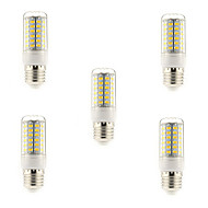 Χαμηλού Κόστους Αγοράστε Περισσότερα, Εξοικονομήστε Περισσότερα-5 W 450 lm E14 G9 E26/E27 LED Λάμπες Καλαμπόκι T 69 leds SMD 5730 Θερμό Λευκό Ψυχρό Λευκό AC 220-240V