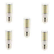 tanie Żarówki LED kukurydza-5W E14 G9 E26/E27 Żarówki LED kukurydza T 69 Diody lED SMD 5730 Ciepła biel Zimna biel 450lm 3000-3500K AC 220-240V