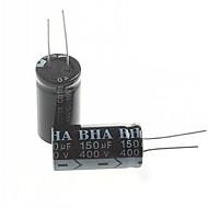 capacitor eletrolítico 150uf 400v (2pcs)