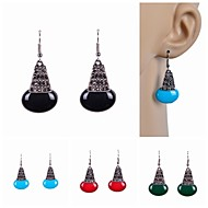 Women's Drop Earrings - Imitation Pearl, Resin, Rhinestone Red / Green / Blue For Wedding / Party / Daily