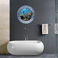 お買い得  インテリア用品-ウォールステッカー ブティック PVC 1個 - 浴室 その他のバスルームアクセサリー