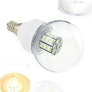 お買い得  LED ボール型電球-648 lm E14 LEDボール型電球 27 LEDビーズ SMD 5730 温白色 / クールホワイト 12 V / 24 V / 1個 / RoHs / CE / CCC