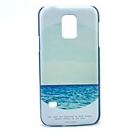 お買い得  Samsung 用 ケース/カバー-ケース 用途 Samsung Galaxy Samsung Galaxy ケース パターン バックカバー 風景 PC のために S5 Mini
