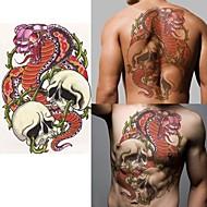 1 Tetkó matricák Mások Non Toxic Alsó hát WaterproofGyerek Női Férfi Felnőtt Tini flash-Tattoo ideiglenes tetoválás