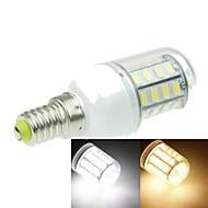 Χαμηλού Κόστους Λαμπτήρες LED τύπου Corn-SENCART 3000-3500/6000-6500 lm E14 LED Λάμπες Καλαμπόκι T 40 leds SMD 5630 Διακοσμητικό Θερμό Λευκό Ψυχρό Λευκό AC 220-240V