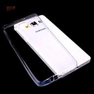 сплошной цвет прозрачный ультра-тонкий для ТПУ Samsung Galaxy a3