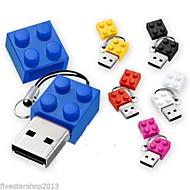 abordables Accesorios para Tablet y PC-2GB memoria USB Disco USB USB 2.0 El plastico Dibujos Tamaño Compacto brick