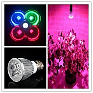 5W E26/E27 Luces LED para Crecimiento Vegetal MR16 3 leds LED de Alta Potencia 450-550lm Blanco Natural Rojo Azul Verde AC 85-265