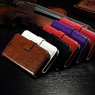 tanie Folie ochronne-wzór karty portfel szalony koń pu skórzane etui z gniazdem całego ciała stoiska do Alcatel One Touch pop C7 (różne kolory)