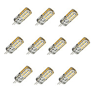 cheap LED Corn Lights-10pcs 1.5W 100 lm G4 LED Corn Lights T 24 leds SMD 2835 Dimmable Warm White Cold White DC 12V
