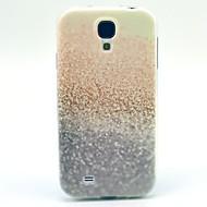 abordables Galaxy S4 Carcasas / Fundas-Funda Para Samsung Galaxy Funda Samsung Galaxy Diseños Funda Trasera Brillante TPU para S4