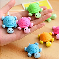 저렴한 $ 0.99 이하-특별 디자인 거북이 모양의 학교 / 사무실 용 지우개 (임의의 색상)