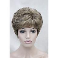 お買い得  -人工毛ウィッグ カール 密度 キャップレス 女性用 カーニバルウィッグ ハロウィンウィッグ 合成