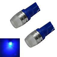 voordelige -50-100 lm T10 Sierlampen 1 leds Krachtige LED Blauw DC 12V