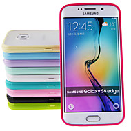 Недорогие Чехлы и кейсы для Galaxy S-ультратонкий жесткий матовый чехол для Samsung Galaxy S6 край