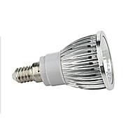 tanie -5W E14 Żarówki punktowe LED 1 Diody lED COB Ciepła biel Zimna biel 450-500lm 2800-3500/6000-6500K AC 85-265V