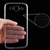 0.3mm ohutta tyyli pehmeä joustava TPU-suojakuori Samsung trendi 3 G3500 g3502