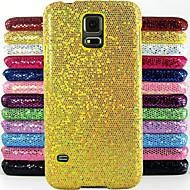 glitter σχεδιασμού σκόνη κάλυμμα μοτίβο σκληρό προστασία σκληρό εξώφυλλο για μίνι Samsung Galaxy S5