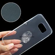 Samsung Galaxy S6 margine înapoi capacul transparent transparent compatibil