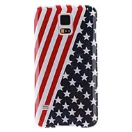 For Samsung Galaxy etui IMD Etui Bagcover Etui Flag TPU Samsung S5