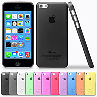 Luxury Ultra Thin Translucent Back Cover for iPhone 5C iPhone Cases