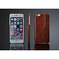 Назначение iPhone 8 iPhone 8 Plus iPhone 6 Plus Чехлы панели Задняя крышка Кейс для Твердый Натуральная кожа для iPhone 8 Plus iPhone 8