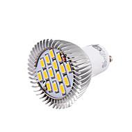 お買い得  LED スポットライト-YouOKLight 700 lm GU10 LEDスポットライト MR16 15 LEDの SMD 5630 装飾用 温白色 クールホワイト AC 100-240V AC 220-240V AC85-265V