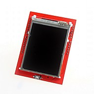 """tanie Akcesoria Arduino-zrób to sam 2.4 """"TFT LCD ekran dotykowy ekspansji tarcza tablica dla Arduino uno"""
