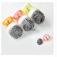 abordables Suministros de Limpieza-Cocina Limpiando suministros El plastico Cepillo y Trapo de Limpieza Utensilios 1pc