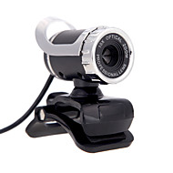 baratos Webcams-Usb 2.0 12 m hd câmera web cam 360 graus com microfone clip-on para desktop skype computador pc laptop