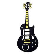 милый черный гитара Стиль USB 2.0 флэш-памяти ручка карты памяти 1 Гб флэш-накопитель