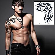 1 Tetkó matricák Totem sorozat Mások Non Toxic Alsó hát WaterproofGyerek Női Férfi Felnőtt Tini flash-Tattoo ideiglenes tetoválás