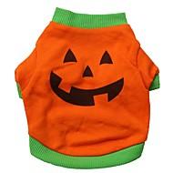 voordelige Dierbenodigdheden accessoires-katten / honden kostuums / T-shirt Oranje Hondenkleding Zomer Cosplay / Halloween