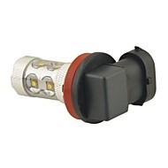 carking ™ h8 / H11 50w 6000k 10smd 2800ml белый свет светодиодные противотуманные фары Фара вождения лампы (DC 12V)