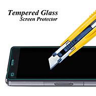 お買い得  スクリーンプロテクター-スクリーンプロテクター のために Sony Sony Xperia Z3 Compact 強化ガラス 1枚 ハイディフィニション(HD)
