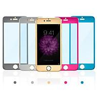 Недорогие Модные популярные товары-Защитная плёнка для экрана Apple для iPhone 6s iPhone 6 Закаленное стекло 1 ед. Защитная пленка для экрана Взрывозащищенный