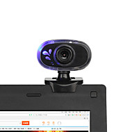 baratos Webcams-360 graus 12m rotativo USB 2.0 hd web cam câmara webcam com mini-grampo microfone incorporado para PC portátil