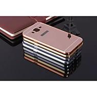 Недорогие Чехлы и кейсы для Galaxy J7-Кейс для Назначение SSamsung Galaxy Кейс для  Samsung Galaxy Защита от удара Покрытие Зеркальная поверхность Кейс на заднюю панель