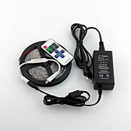 z®zdm防水5m 600x3528 smd ledストリップライトと11key rfコントローラと12v3a eu / us / uk電源