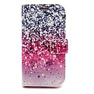 voordelige Galaxy S-serie hoesjes / covers-fonkelende ster lederen tas met standaard voor Samsung Galaxy s6 / S5 / S4 / s3 / s3 mini / mini s4 / s5 mini / s6 edge